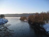 Frostiges Naturschauspiel am Kemnader See